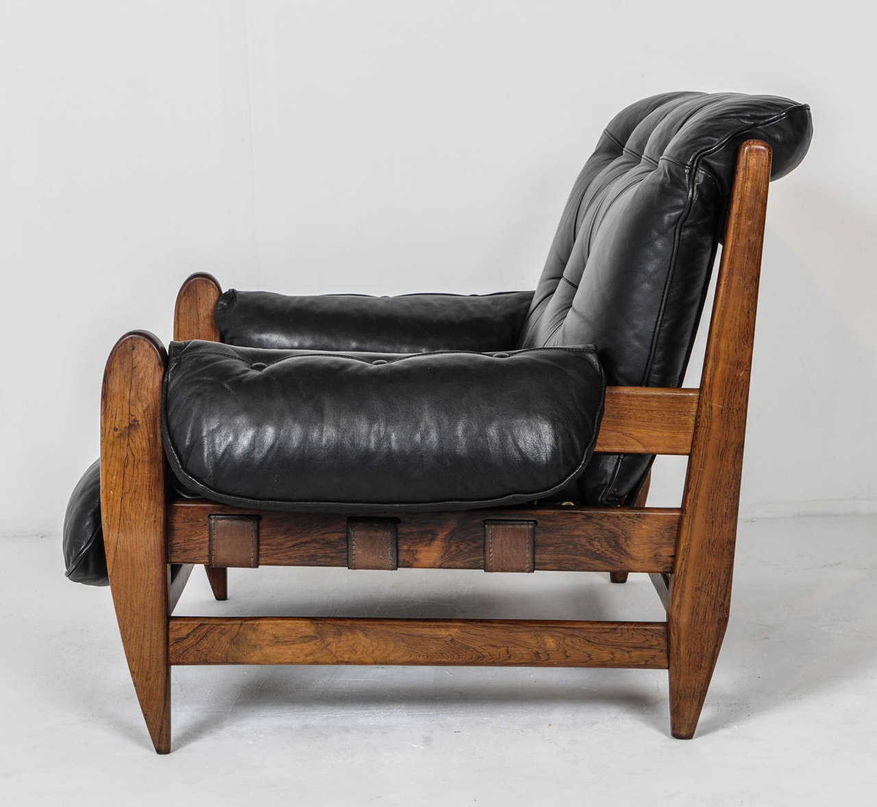 Incredible Pair Of Jean Gillon Brazilian Lounge Chairs For Italma Wood Ibusinesslaw Wood Chair Design Ideas Ibusinesslaworg
