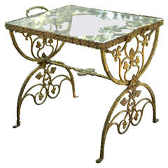 Low Table with Foliate Design of the 1920s