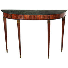 Rosewood Console Designed by Paolo Buffa