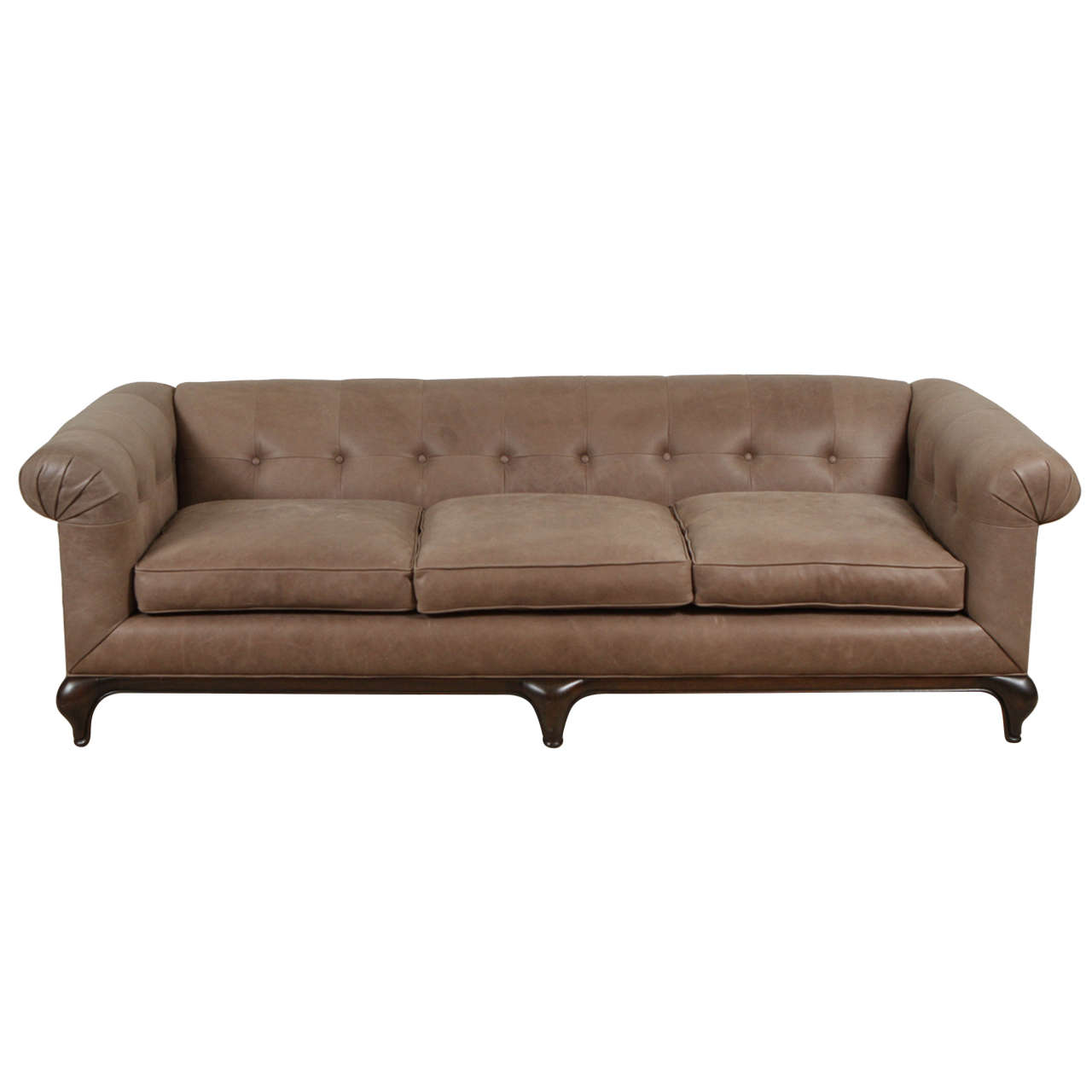 Leather Sofa by Monteverdi-Young of Beverly Hills