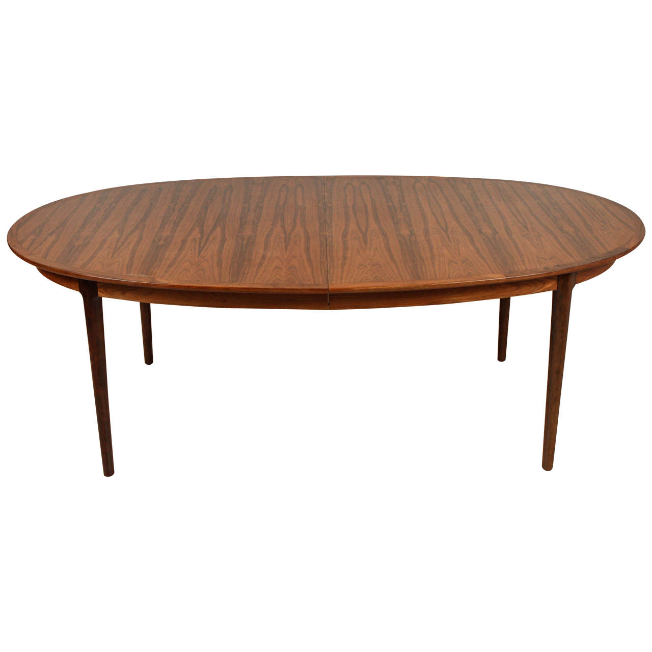 Rosewood Dining Table Norwegian Rosewood Dining Table By Torbjrn Afdal For Bruksbo