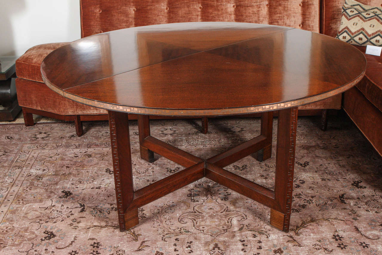 Frank Lloyd Wright for Heritage Henredon Taliesin Table at 1stdibs