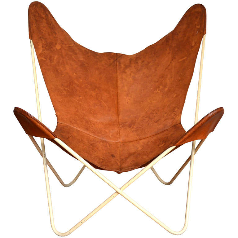 Butterfly chair 50 s at 1stdibs