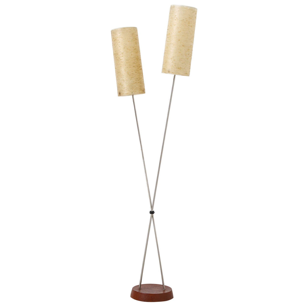 1960s staff floor lamp at 1stdibs