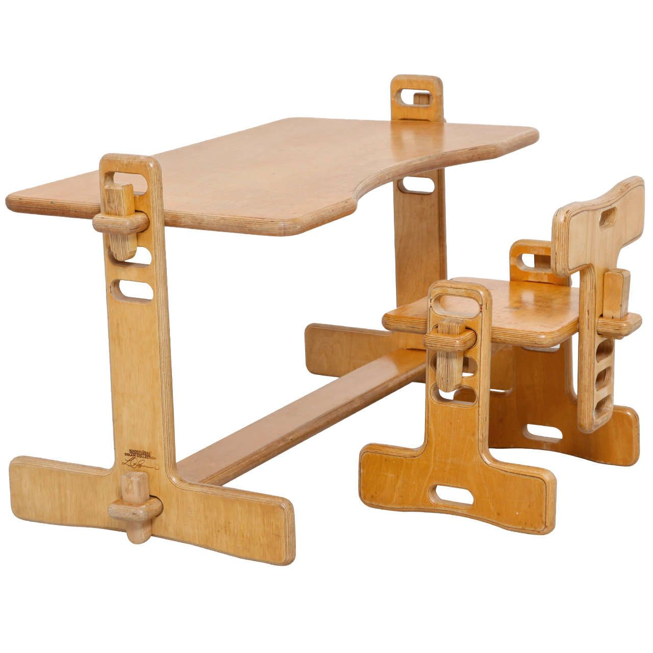 Ihram Kids For Sale Dubai: Child's Writing Desk And Chair Designed By Luigi Colani At