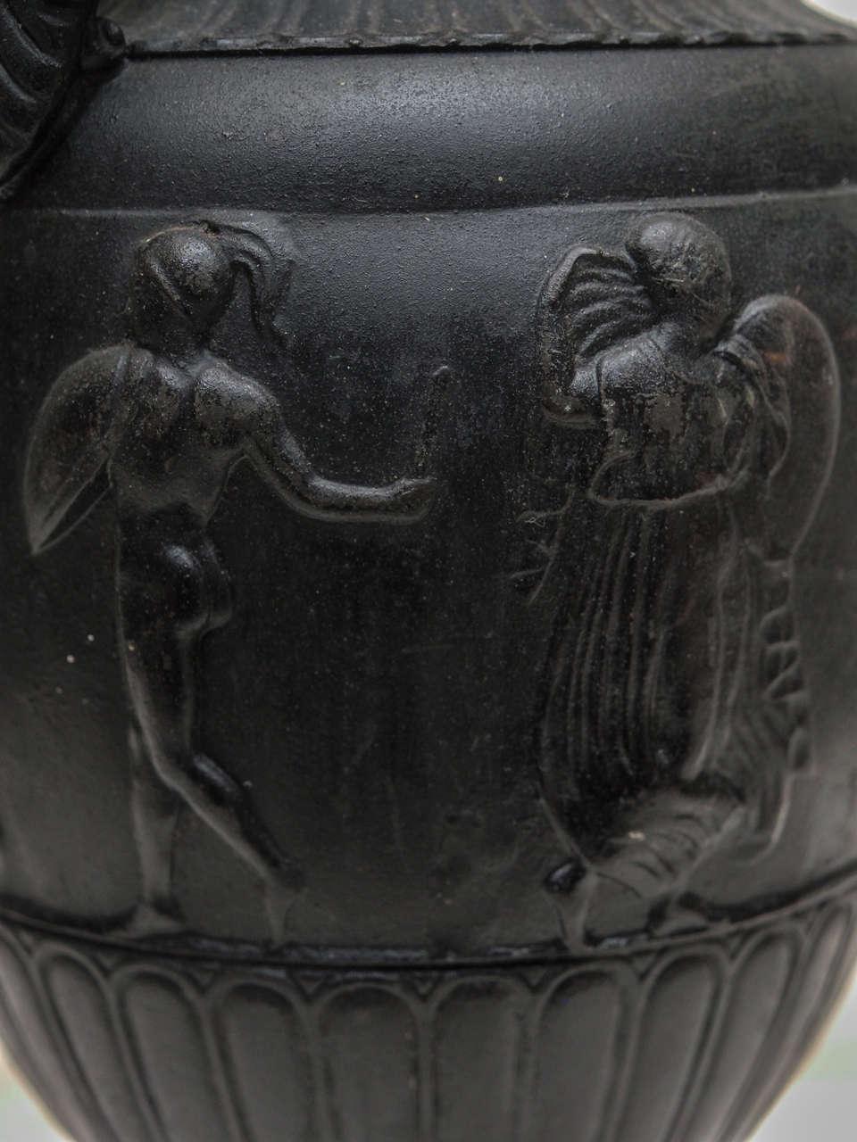 Bronze Grand Tour Vases on Sienna Bases For Sale 1