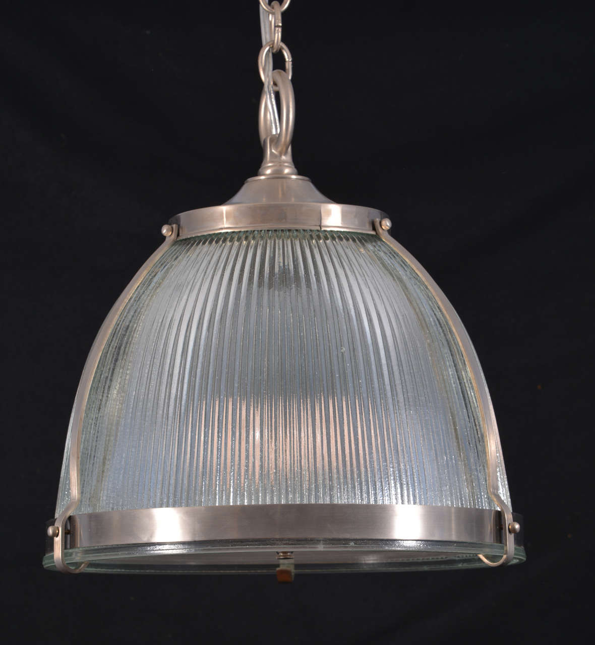 1930s Holophane Fixtures With Diffusers, One Available For