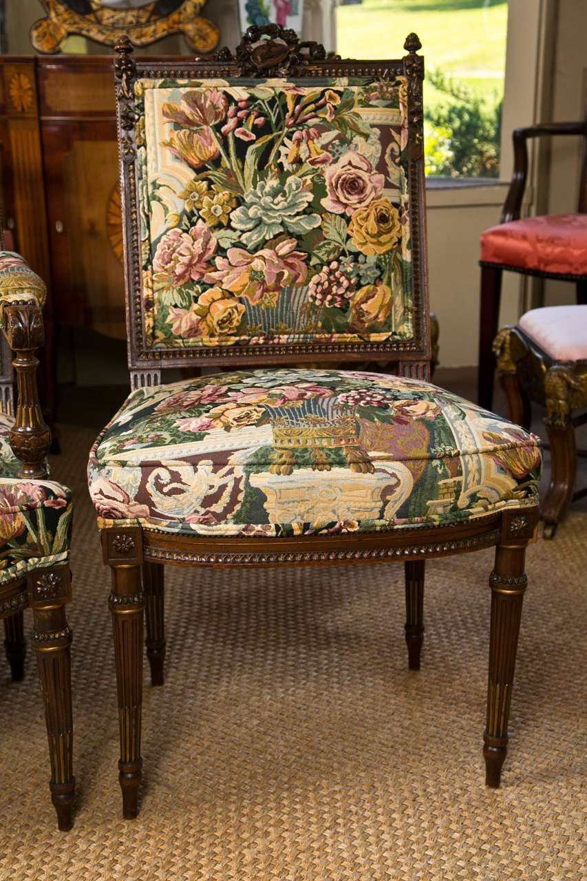 set of 8 louis xvi style dining chairs for sale at 1stdibs