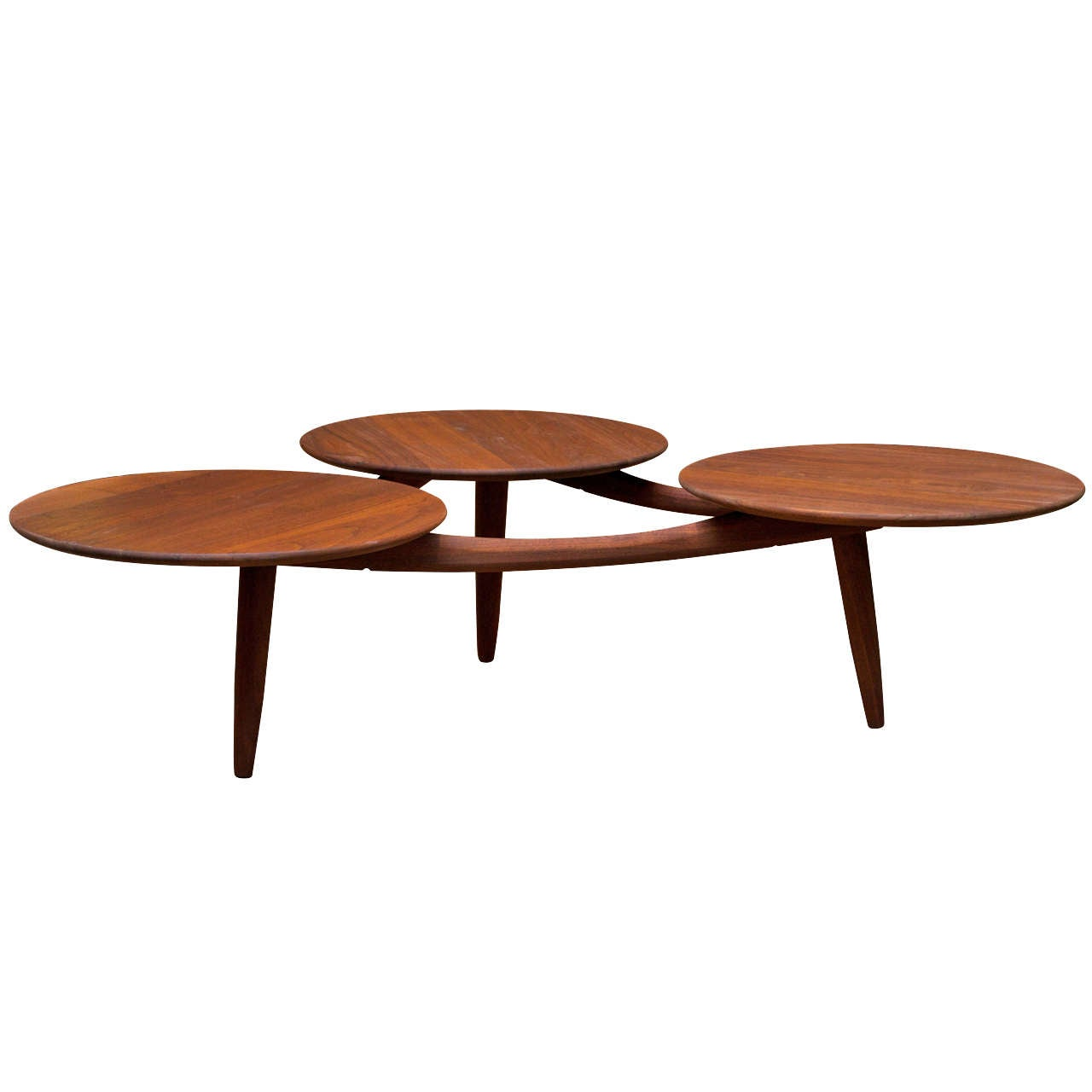 Mid century modern coffee table at 1stdibs Espresso coffee table