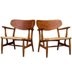 Hans Wegner Shell Back Chairs