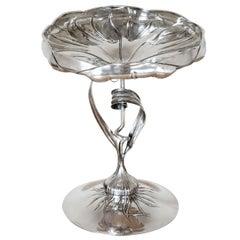 Art Nouveau Silver Centerpiece