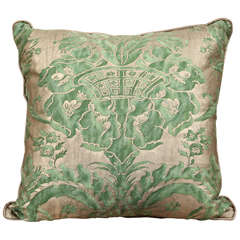 Green Fortuny Pillows