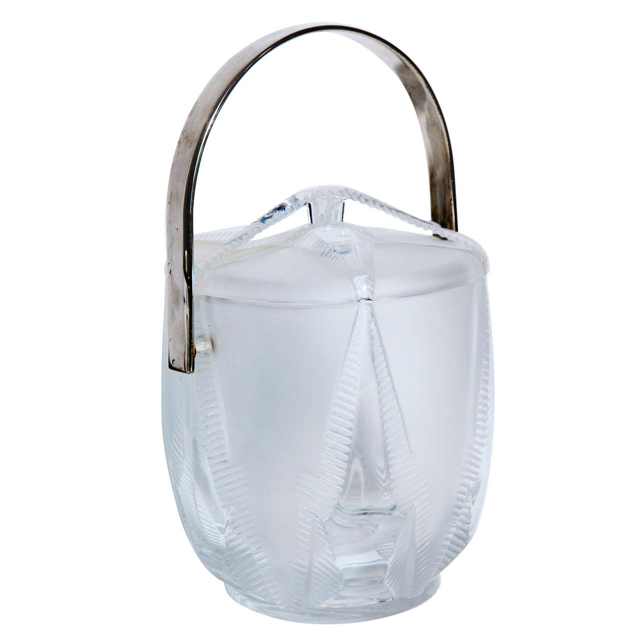 Elegant Lalique Starfish Ice Bucket