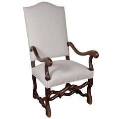 18th Century Os De Mouton Chair