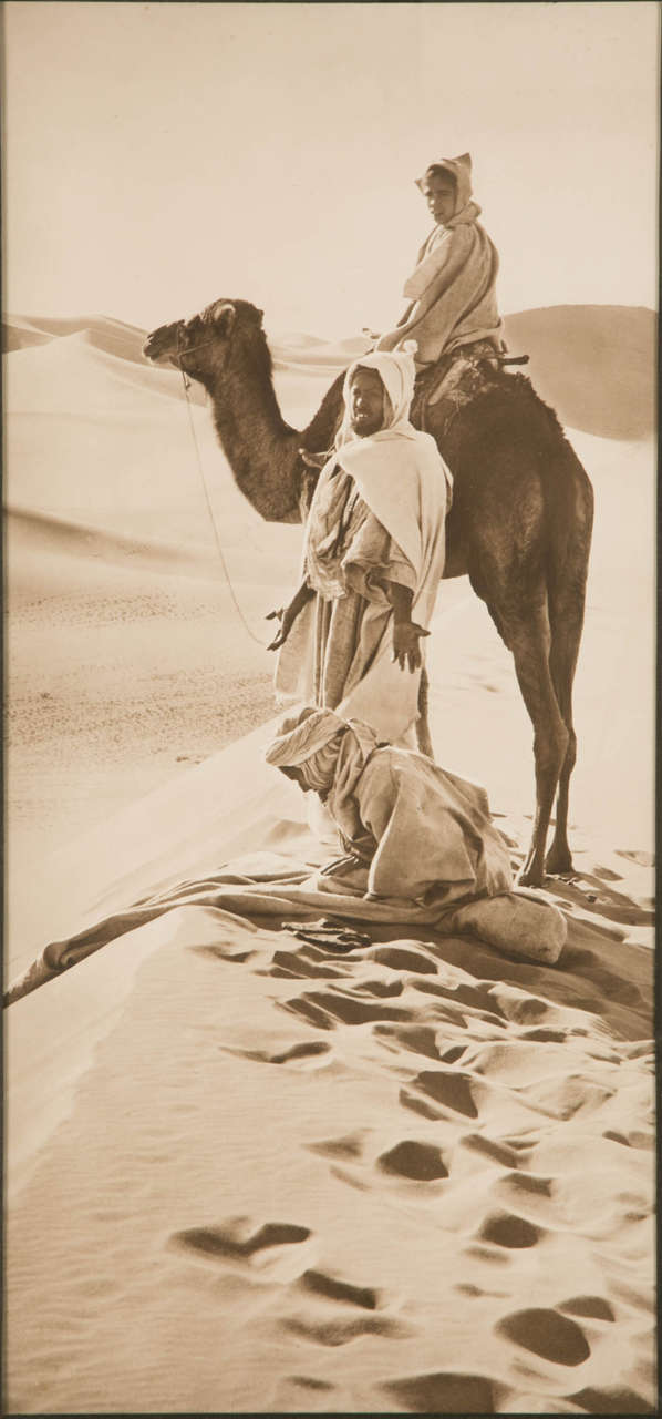 Tunisian 'The Hour of Prayer' circa 1910 Vintage Silver Print by R. Lehnert