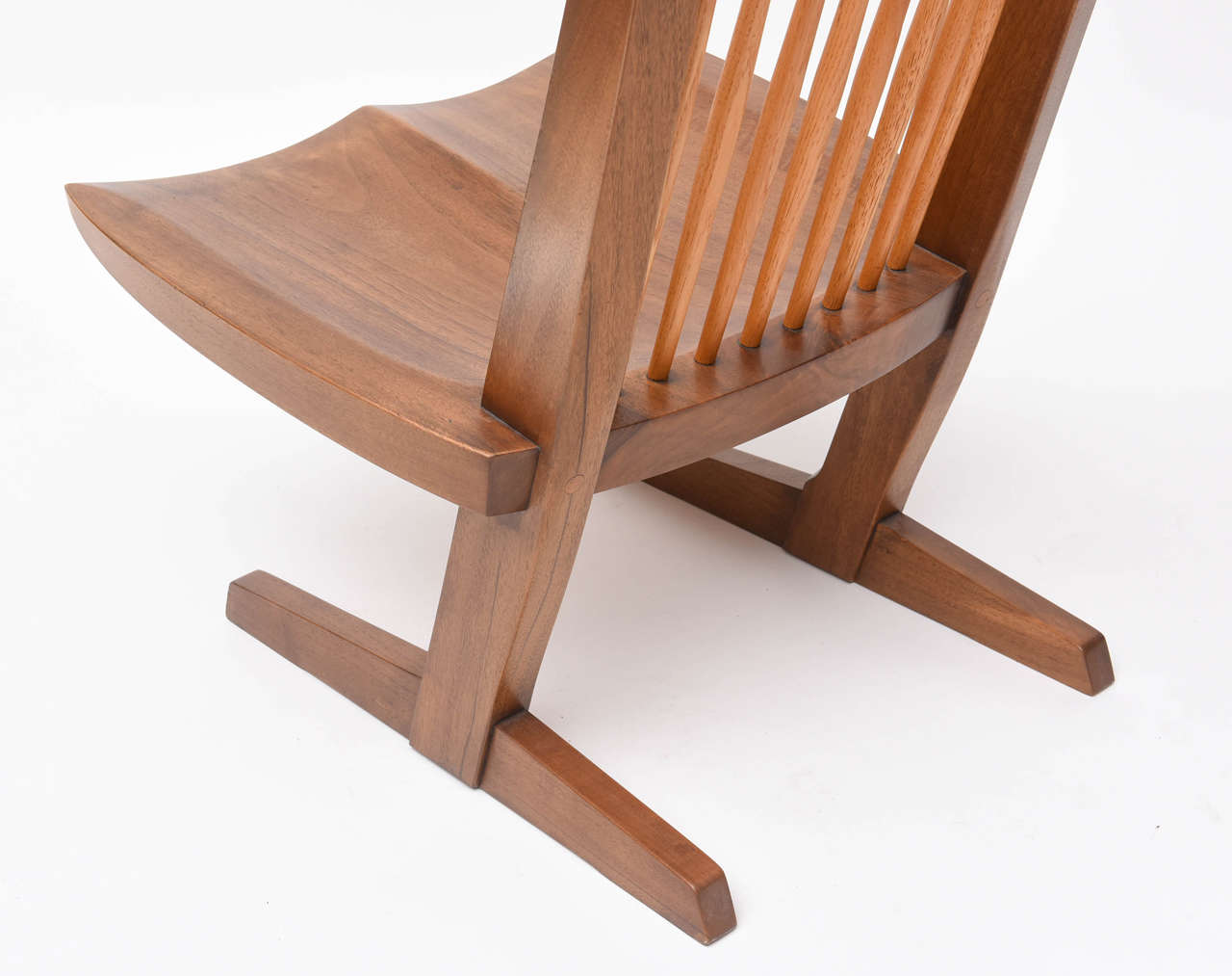 George Nakashima Conoid Low Chairs For Sale 2