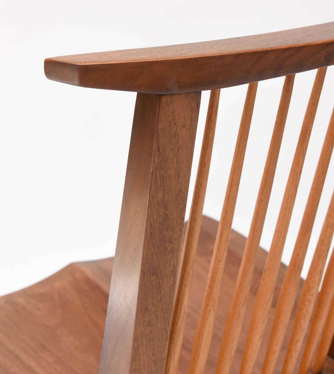 George Nakashima Conoid Low Chairs For Sale 3