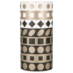 Porcelain Vase by Vasarely for Rosenthal, 1970