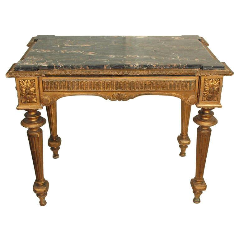 LOUIS XVI STYLE CENTER TABLE W DRAWER