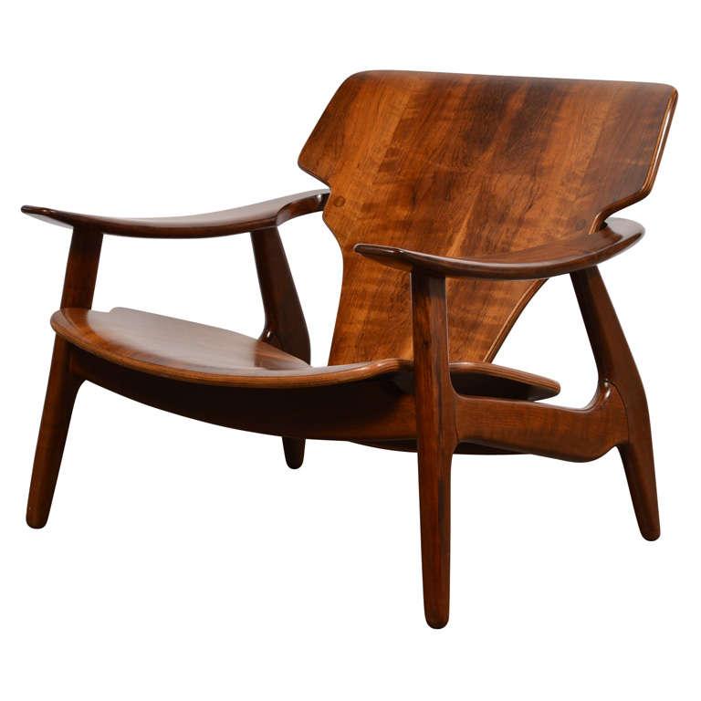 """Diz"" Chair by Sergio Rodrigues"