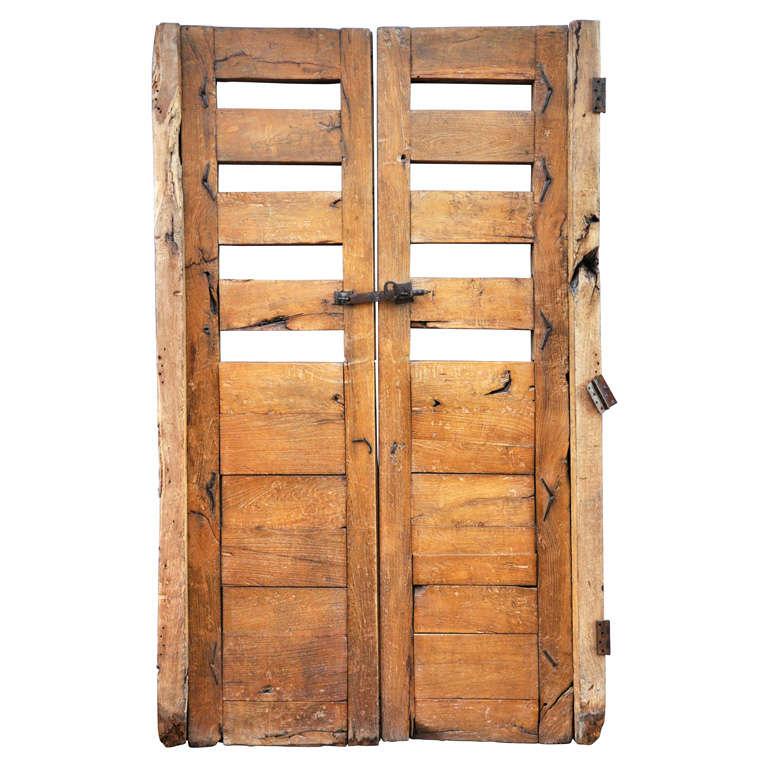 Pair of Primitive Doors For Sale  sc 1 st  1stDibs & Pair of Primitive Doors at 1stdibs