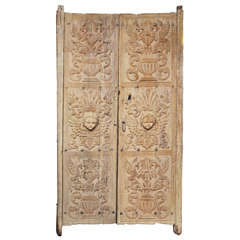 Pair of Carved Decorative Doors
