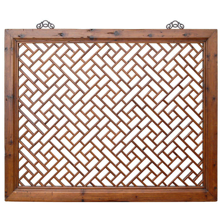 Chinese Lattice Panel