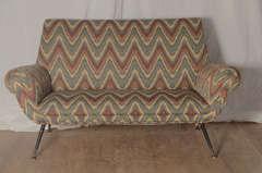 Italian Zig Zag Sofa image 3