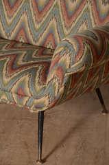Italian Zig Zag Sofa image 4