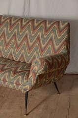 Italian Zig Zag Sofa image 5