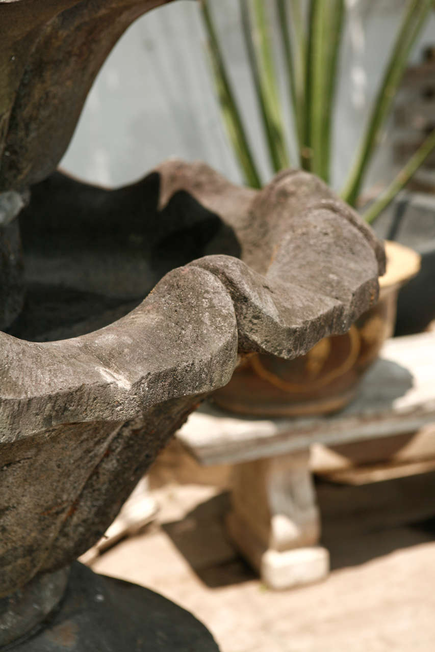 Volcanic Stone Fountain For Sale 2