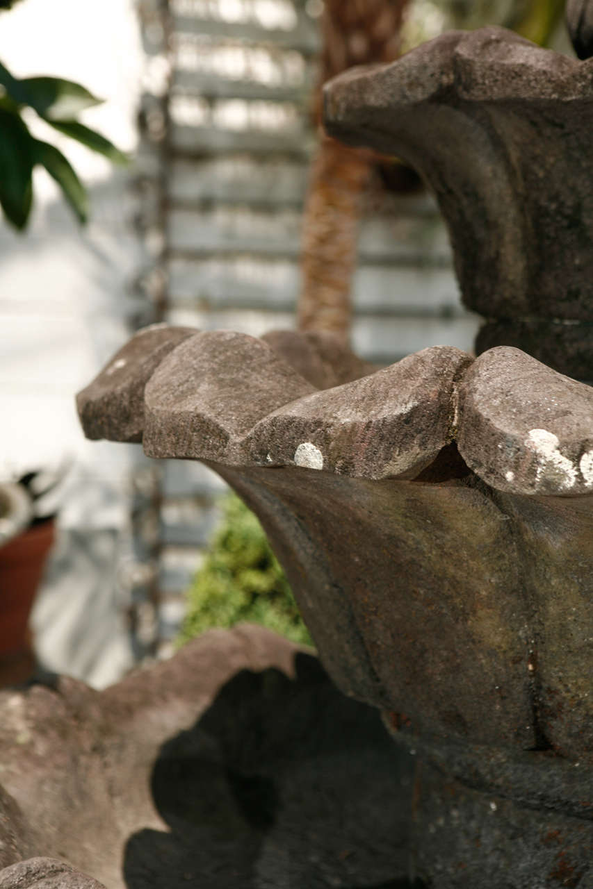 Volcanic Stone Fountain For Sale 3