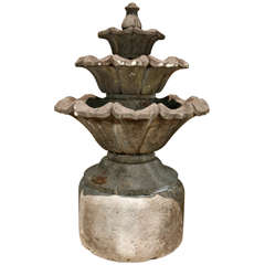 Volcanic Stone Fountain