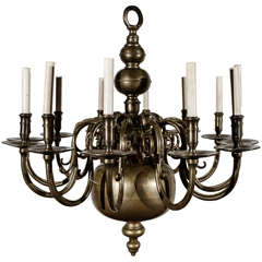 Large 12 Light Chandelier