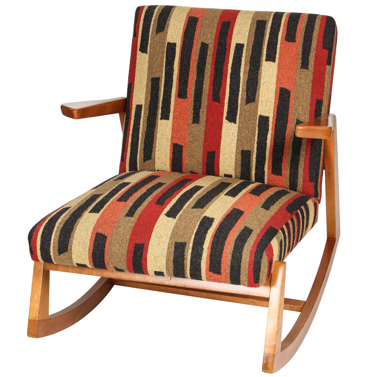 Ralph Rapson Rocking Chair For Knoll Associates At 1stdibs
