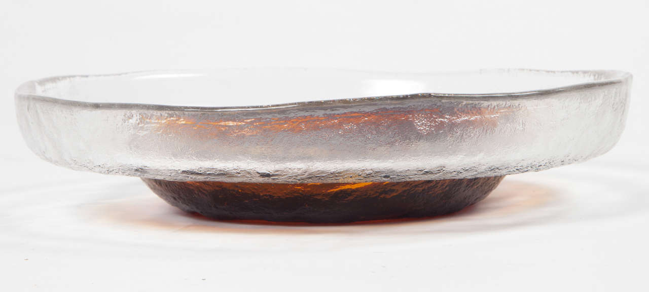 Blown Glass Bowl from Finland 2