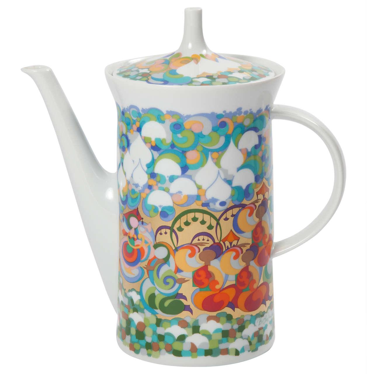 Rosenthal Bjorn Wiinblad Teapot For Sale