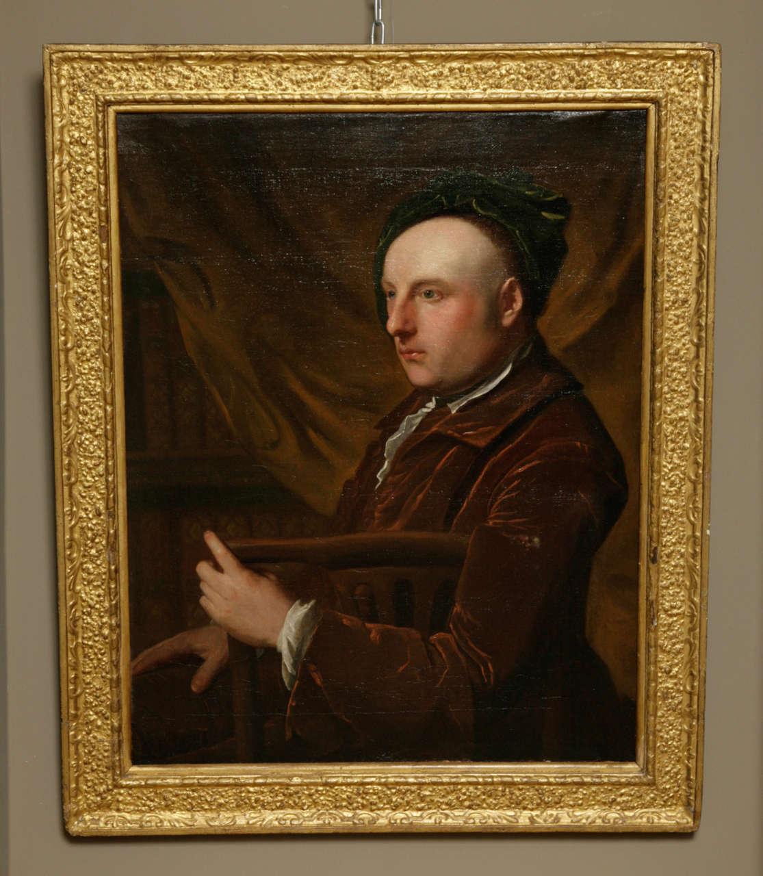 Portrait of an Artist, Circle Of Thomas Gibson, Circa 1730 2