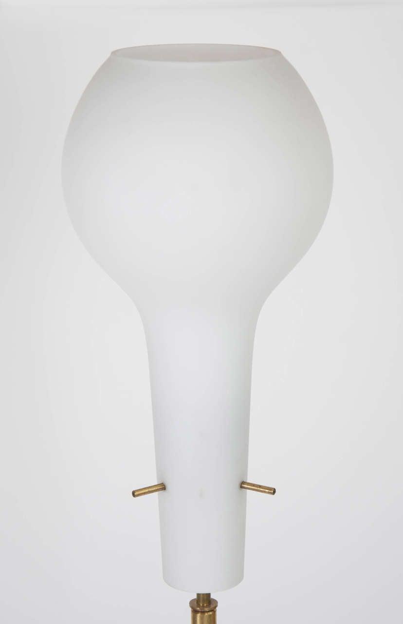 marble base floor lamp at 1stdibs