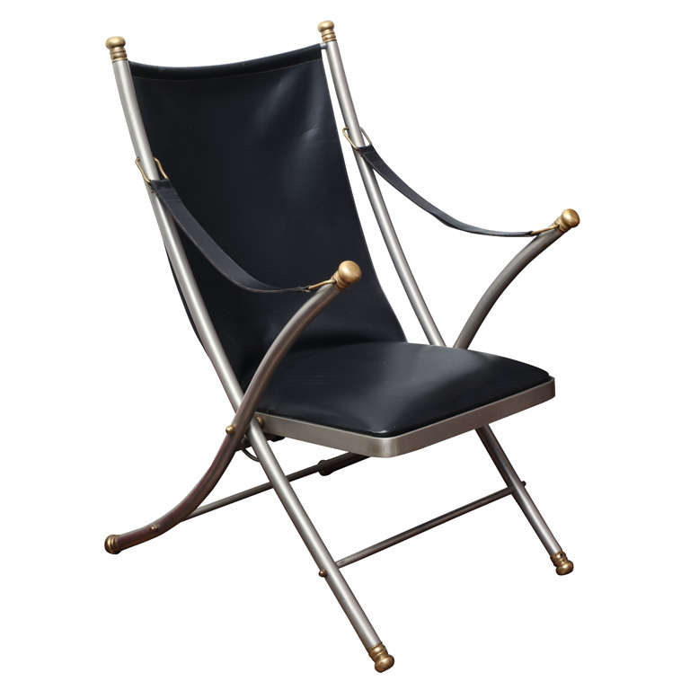 unique gallery of leather folding chair