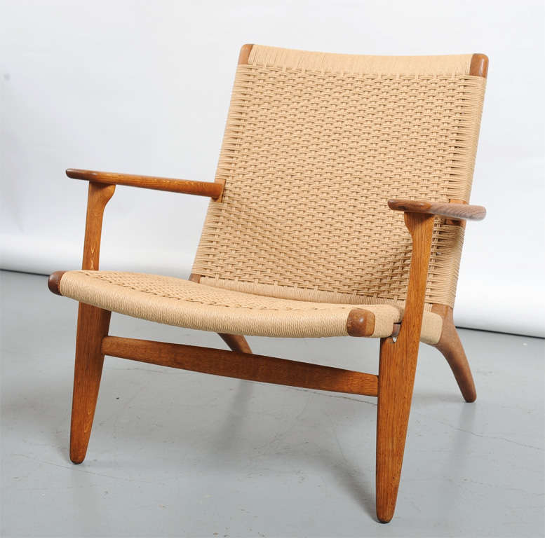ch 25 easy chair by hans wegner for carl hansen and sons at 1stdibs