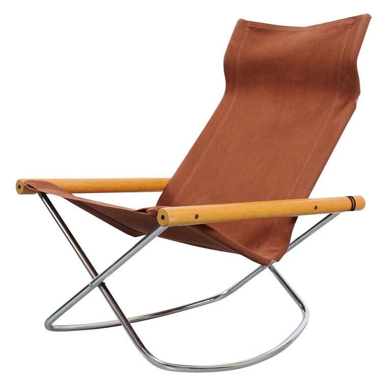 Takeshi Nii -  NY  folding rocking chair ...  sc 1 st  1stDibs : foldable rocking chair - lorbestier.org