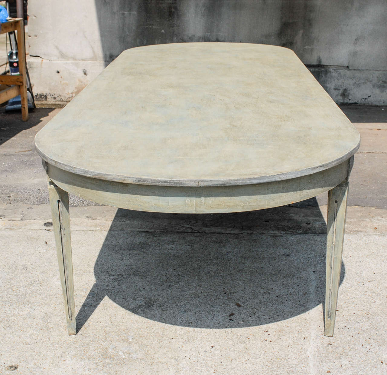 A Gustavian Style Dining Table At 1stdibs