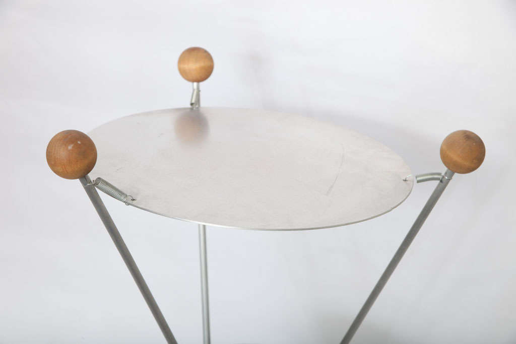 1950s Futurist Table Lamp Attributed to Heifetz In Excellent Condition For Sale In New York, NY