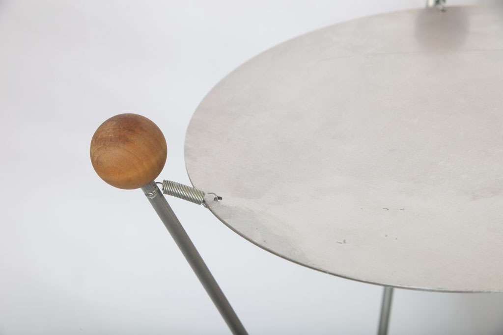 1950s Futurist Table Lamp Attributed to Heifetz For Sale 2
