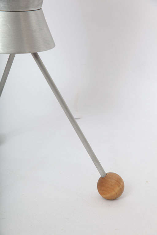 1950s Futurist Table Lamp Attributed to Heifetz For Sale 3