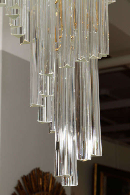 Foyer Chandelier Window : Murano glass foyer chandelier for sale at stdibs