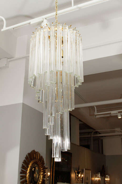 Foyer Chandelier Sale : Murano glass foyer chandelier for sale at stdibs