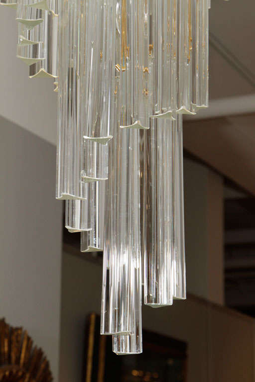 Art Glass Foyer Light : Murano glass foyer chandelier at stdibs