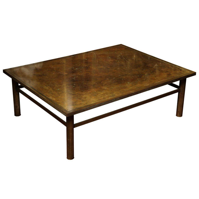 Laverne bronze coffee table at 1stdibs Bronze coffee tables